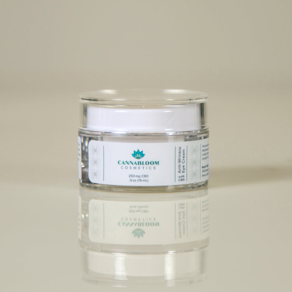 CannaBloom Hemp Anti-Wrinkle Eye Cream
