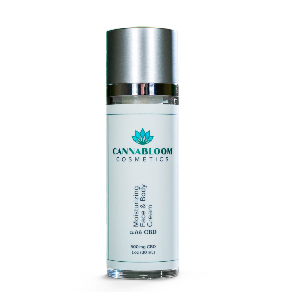 CannaBloom Moisturizing Face and Body Cream
