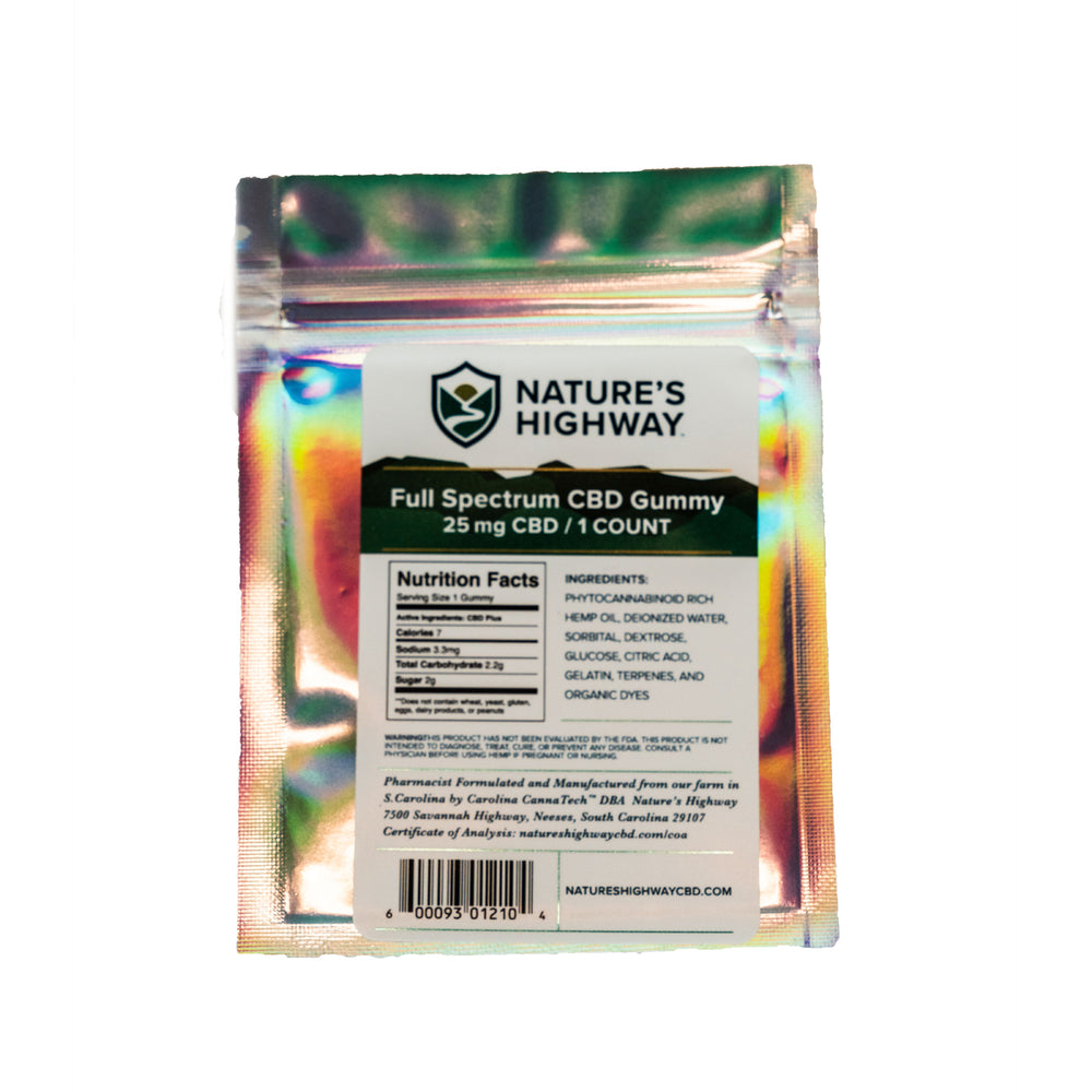 Individual: Full-Spectrum Gummies
