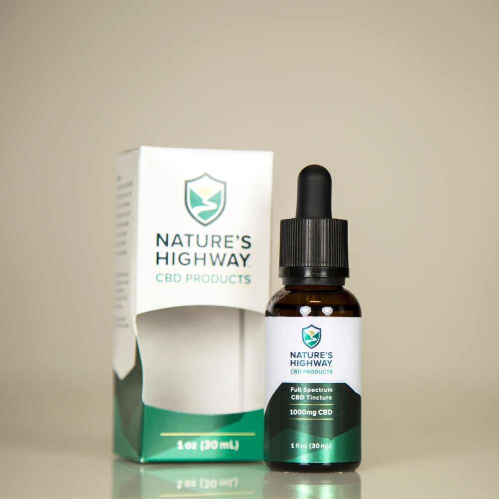 1000mg Full-Spectrum Tincture