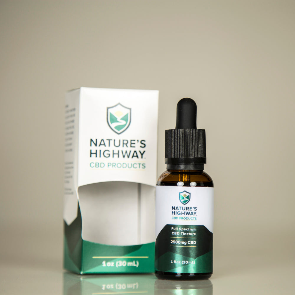 Load image into Gallery viewer, 2500mg Full-Spectrum Tincture