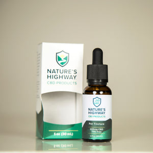 300mg Pet Tincture - THC Free