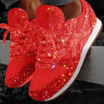2020 NEW Women Crystal Platform Sneakers