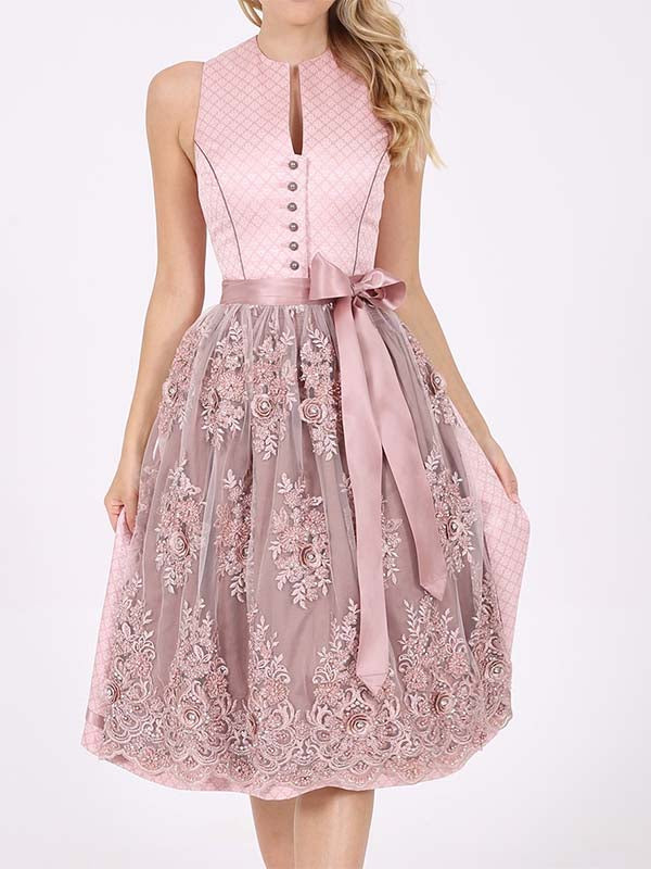 Girly Style Cute Lace Dress