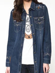 Rivet Denim Coat