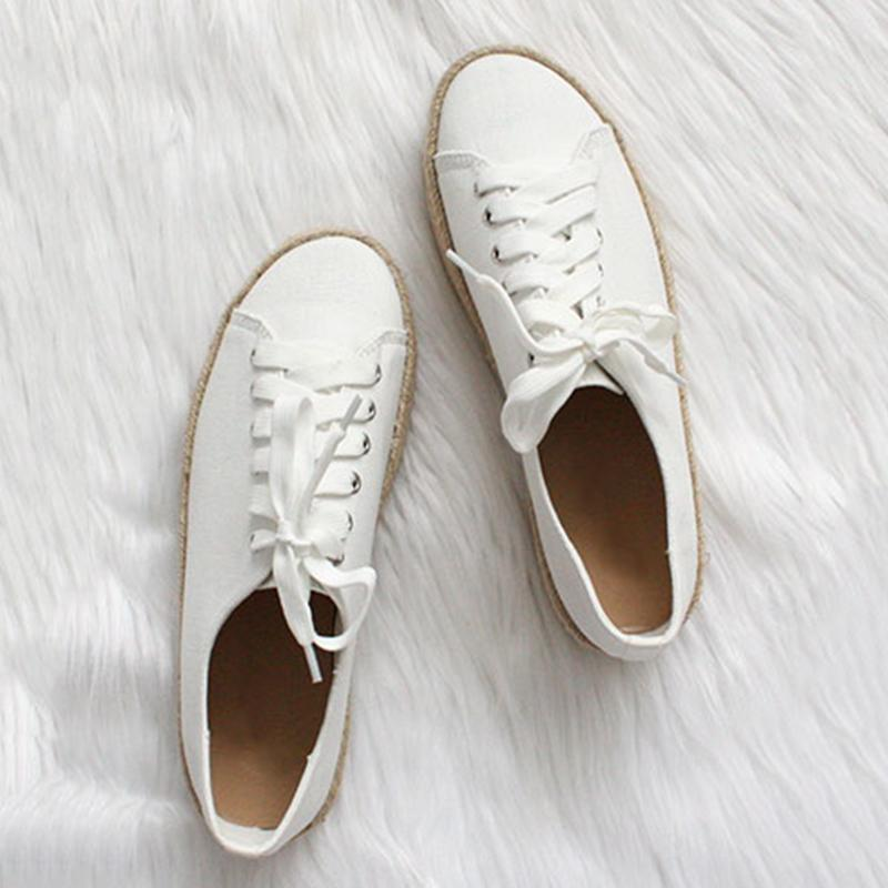 Women's Fashion Lace Up Leopard Sneakers