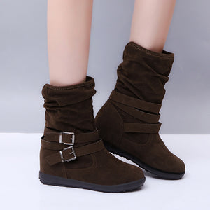 Women's Stylish Casual Suede Over-the-Knee Boots
