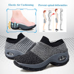 Women's Fly-Woven Mesh Breathable Casual Shoes