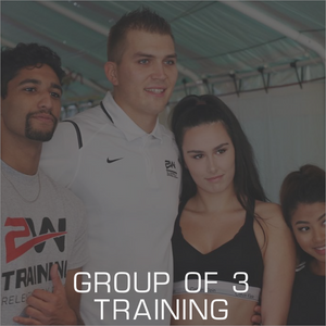 Group of 3 Training