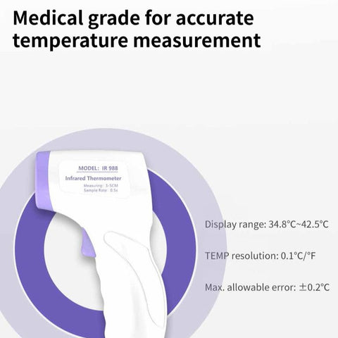 Image of Non Contact Forehead Infrared Digital Thermometer