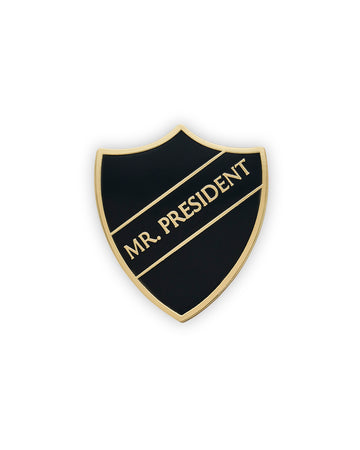 MR. PRESIDENT SHIELD