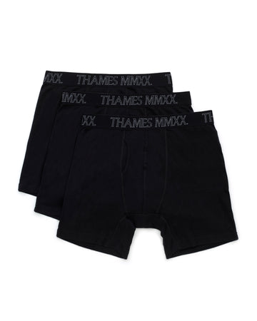 OUTLINE BOXERS BLACK
