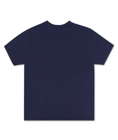 OUTLINE TEE NAVY