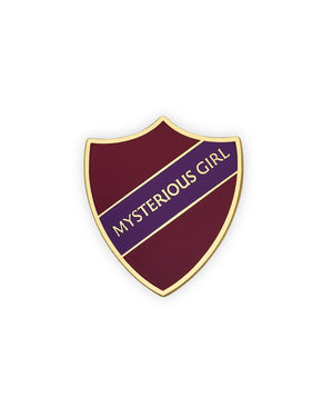 MYSTERIOUS GIRL SHIELD