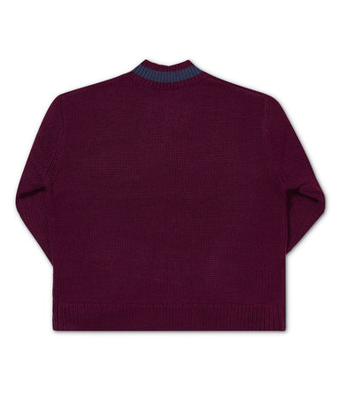 P.G. KNIT TYRIAN PURPLE