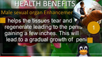 Herbs For Erectile Dysfunction And Enlargement Combo - Monthly Subscription