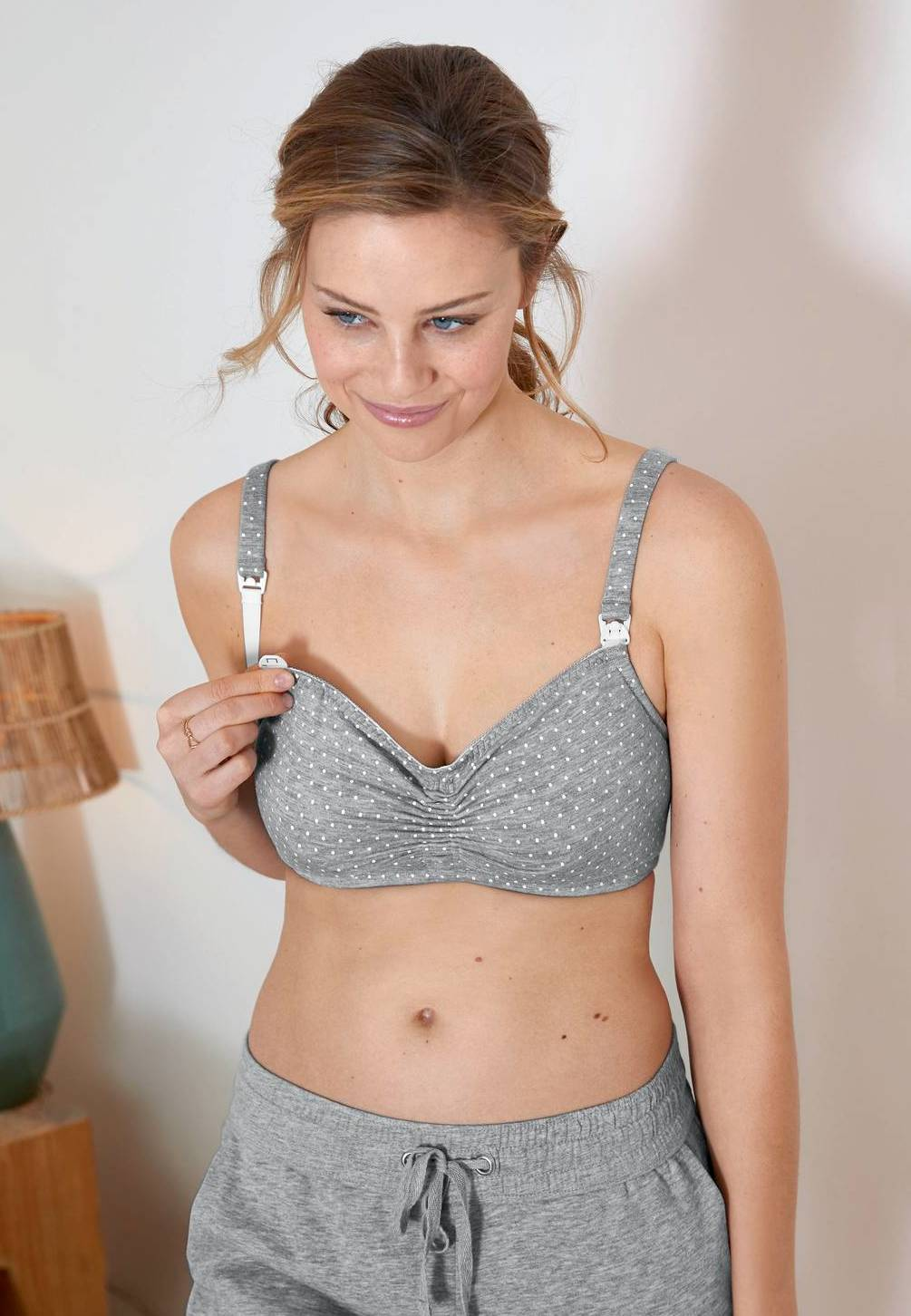 Anita 5091 Miss Debby Charmingly Soft Wireless Maternity Nursing Bra by Anita Maternity