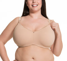 Load image into Gallery viewer, 1st Quality Croissant Underwire Nursing Bra by Cake Maternity C-D cups, 32I