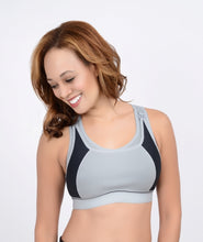 Load image into Gallery viewer, High Impact Compression Sports Nursing Bra by La Leche League Intimates