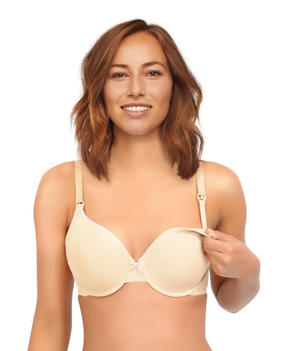 The Confident Mom Padded Underwire Nursing Bra by Nursing Bra Express