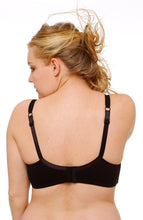Load image into Gallery viewer, Molded Cotton Wireless Maternity Nursing Bra by QT Intimates