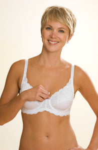 1st Quality Nunderwire Nursing Bra with Removable Underwire by QT Intimates