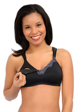 Load image into Gallery viewer, Softest Lace Trim Wireless Maternity Nursing Bra by La Leche League Intimates