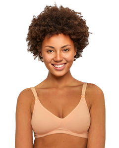 The Classic Mom Cottony Smooth Wireless Maternity Nursing Bra by Nursing Bra Express