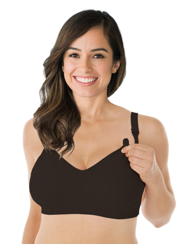 The Fabulous Mom Smooth Comfort Wireless Nursing Bra by Nursing Bra Express