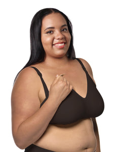The Fabulous Mom Smooth Comfort Wireless Maternity Nursing Bra by Nursing Bra Express