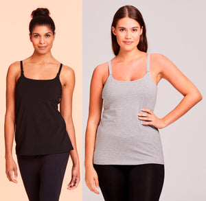 Value Line 2 Pack Savings Bundle Basic Maternity Tanks