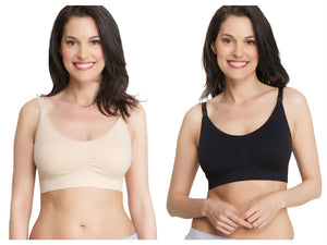 Value Line 2-Pack Savings Bundle Stretch Comfort Maternity Nursing Bras
