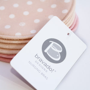 Washable Nursing Pads by Bravado Designs