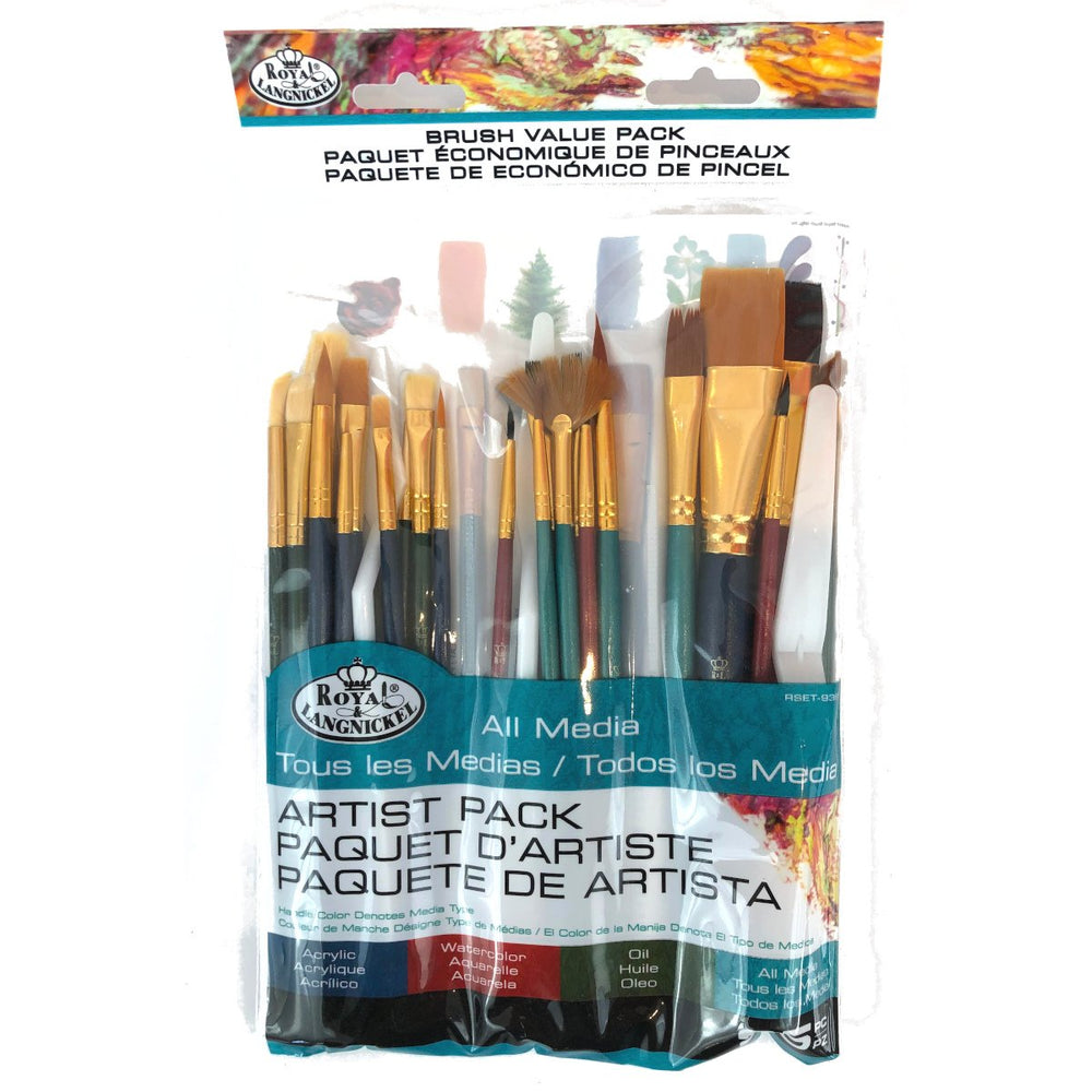Royal Langnickel - Artist Brush Value 25 Pack
