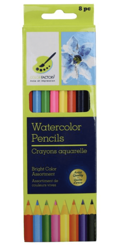 Color Factory, Watercolour Pencils 8 piece
