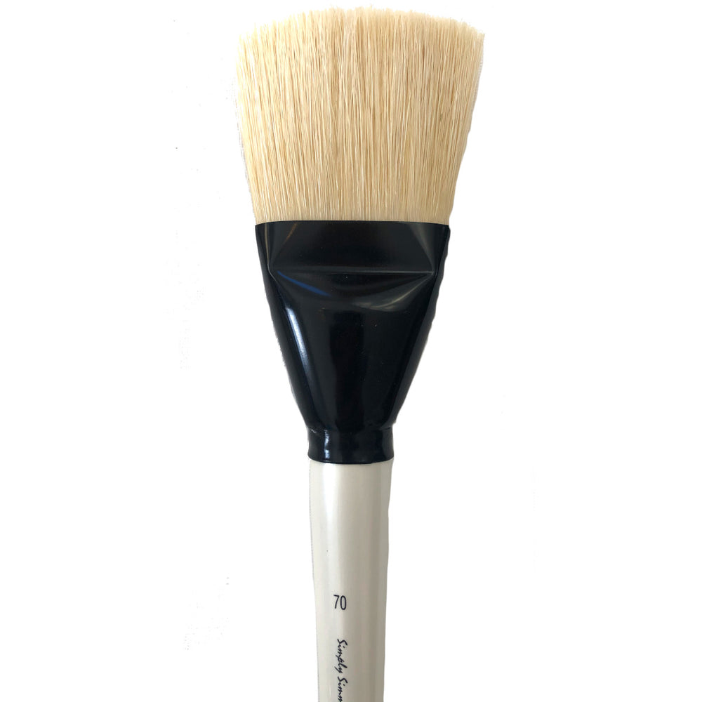 Simply Simmons XL Brushes Flat Oil Natural painting