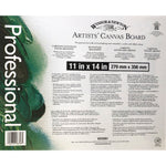 Winsor & Newton Artist Canvas Board Panels 6 sizes