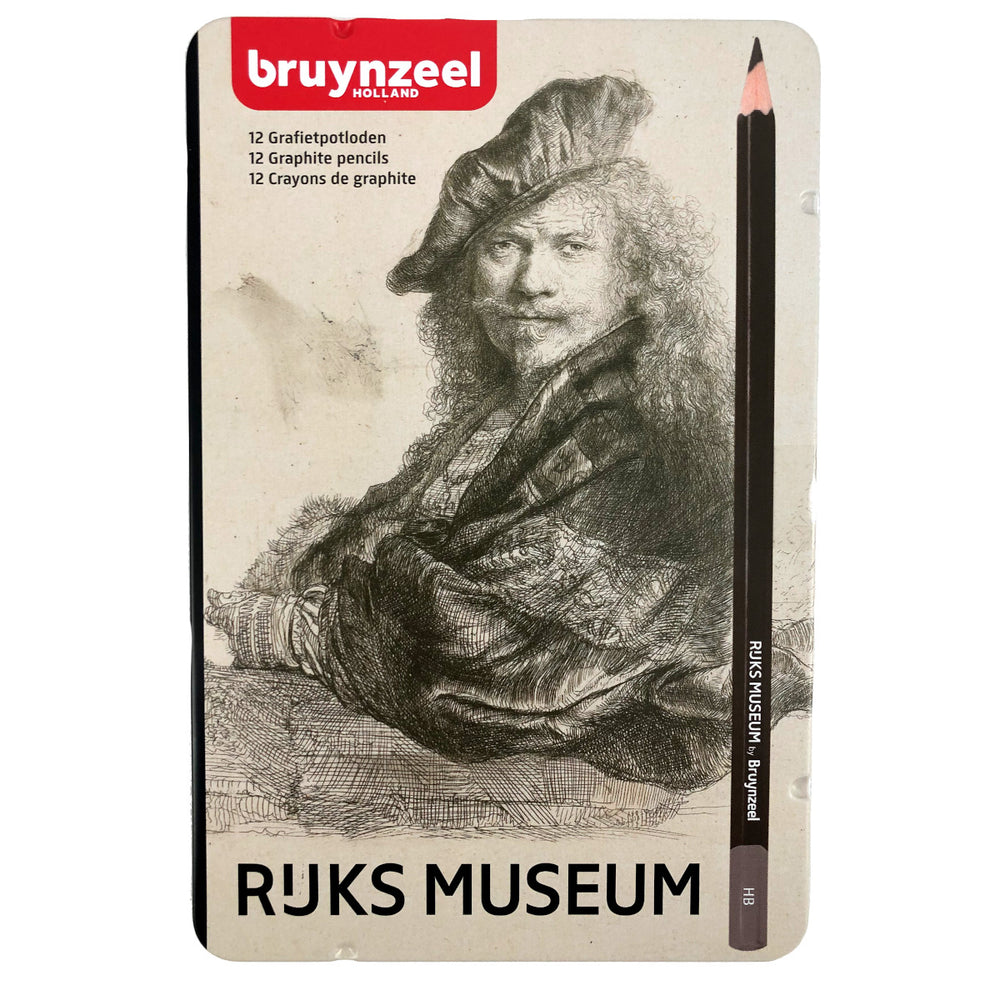12 graphite pencils Bruynzeel Rembrandt pencil drawing art supplies