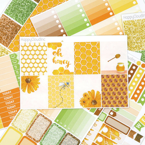 Honey Bee Sticker Kit