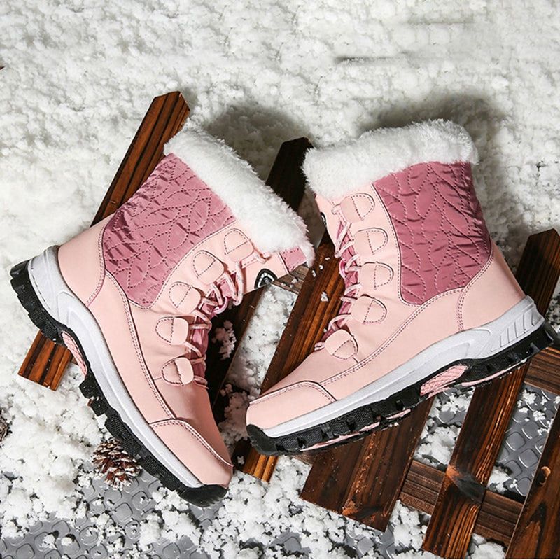 Women's outdoor warm snow boots