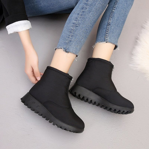 Casual Cotton Boots