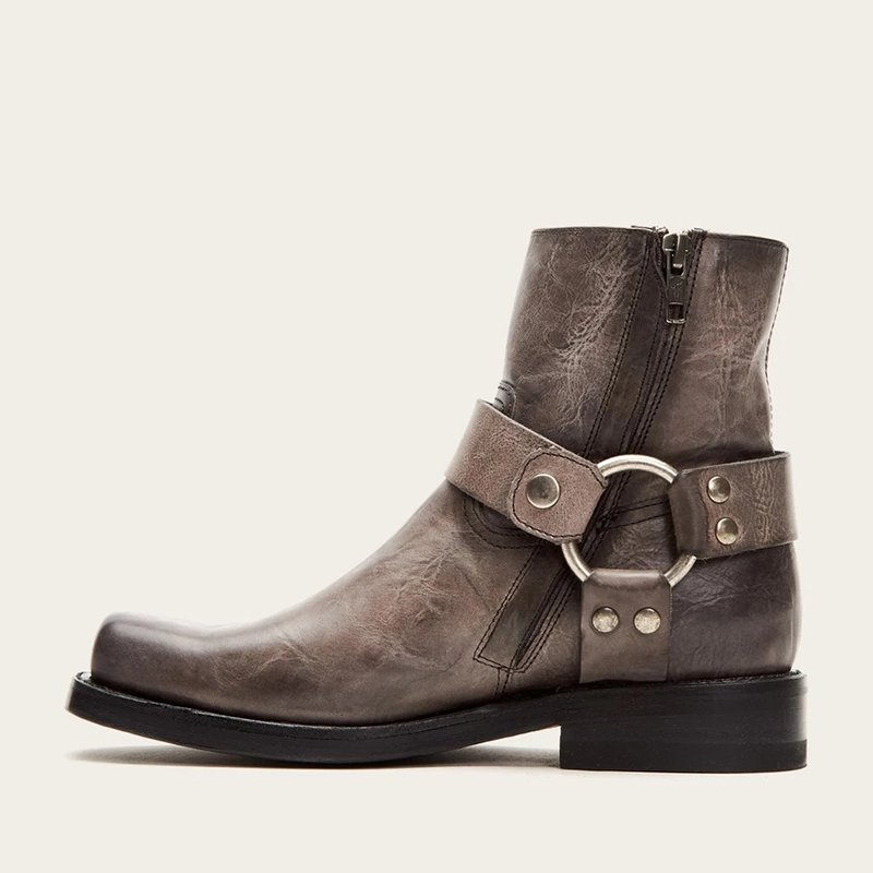 Buckle Daily Low Heel Autumn/Winter Ankle Boots