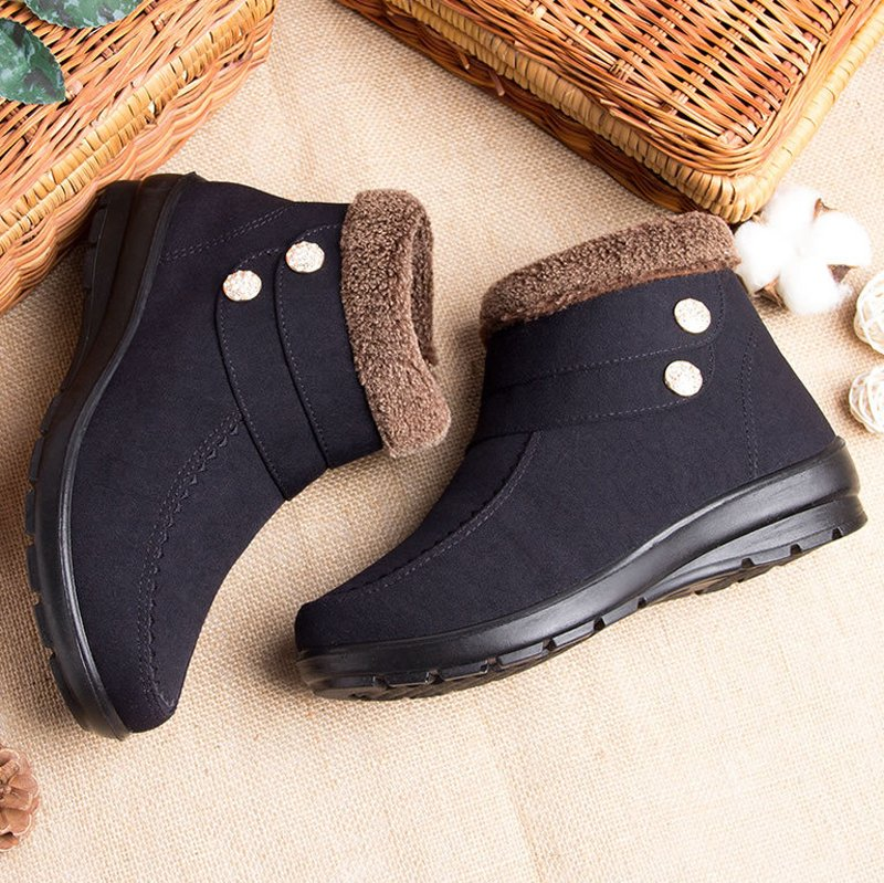 Daily Winter Cotton Women's Shoes