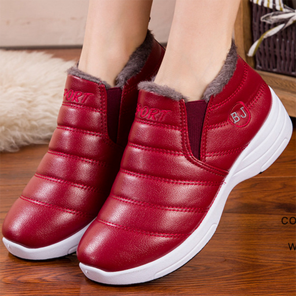 Low Heel Spring Elastic Cloth Sneakers
