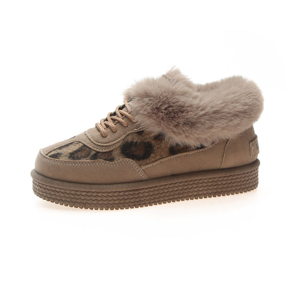 Winter Leather Women's Shoes