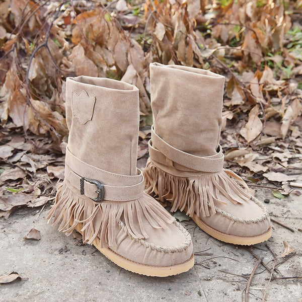 Winter Tassel Boots
