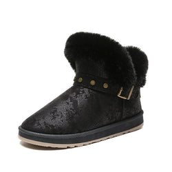 Rivet Winter Daily Flocking Boots