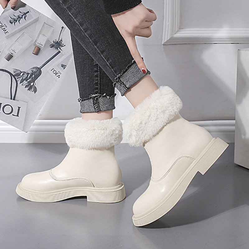 Zipper Fall Platform Boots