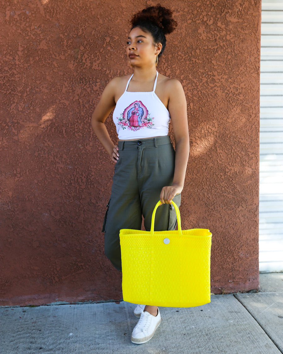 Tote - Neon Yellow | El Cholo's Kid - El Cholo's Kid