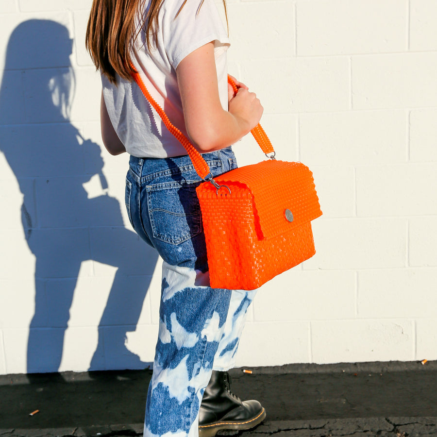 Small Clutch - Neon Orange | El Cholo's Kid - El Cholo's Kid